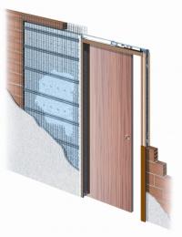 Stavební pouzdro Eclisse pro jednokřídlé dveře