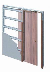 Eclisse stavební pouzdro jednokřídlé do SDK