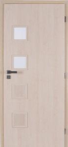 Jednokřídlé dveře Masonite Giga 2 sklo
