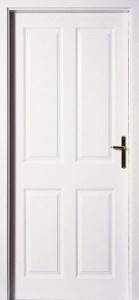 Dveře Masonite Odysseus bílá pór