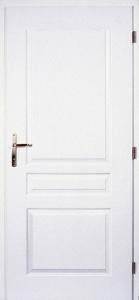 Dveře Masonite Troja bílá pór