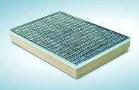 MEA rohožka s vanou z polymerbetonu,ocelový mřížkový rošt 30/10