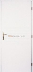 Hladké bílé dveře Masonite plné