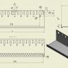 Zakládací lišta LO-P rozměr