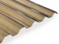 Gutta Guttagliss Makro bronz polykarbonátová trapézová deska