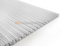 Polykarbonátová deska Guttagliss DUAL STRONG 16 mm čirá