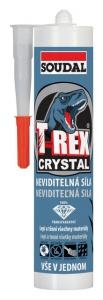 Soudal T-REX Crystal univerzální lepidlo a tmel