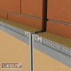 Dilatační lišta průběžná LD-TOP použití