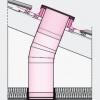 Pevný tubusový světlovod Fakro SRL-L průřez