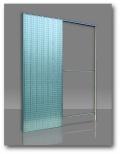 Scrigno stavební pouzdro Stech do zdi 125 mm / 2100 mm jednokřídlé