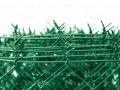 Čtyřhranné pletivo IDEAL PVC 15 m se zapleteným napínacím drátem, zelené