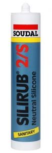 Soudal Silirub 2/S silikon 310ml