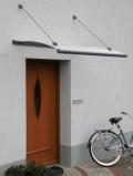 Gutta vchodová stříška Swing Glass - 1,5x0,95x0,2m