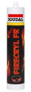 Soudal Firecryl FR bílý protipožární tmel
