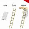 Půdní schody Click Fix MINI 36