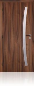 Dveře Solodoor Gabreta 1 fólie ořech