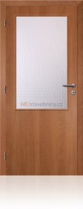 Dveře Solodoor Klasik 2 fólie olše