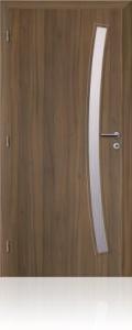 Dveře Solodoor Gabreta 1 CPL ořech