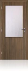 Solodoor interiérové dveře KLASIK 2 CPL ořech