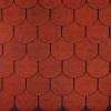 střešní šindel Onduline  Bardoline TOP bobrovka červená mix