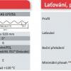 Parametry Onduclair PES vlnitá deska A5