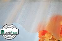 Lanitplast Marlon CSE Original vlnitý polykarbonát 0,8 mm 95/38 čirá 0,95x2 m