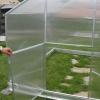 Zahradní skleník Gardentec dvojité otevírání dveří
