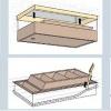 Montážní postup sady VTI na schránku půdních schodů