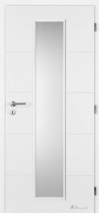 Hladké bílé dveře Masonite Quatro Linea
