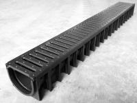 Odvodňovací žlab ECO-LINE 4ALL s plastovým roštem
