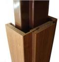 Masonite obklad kovové zárubně laminát