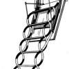 JAP VERTICALE stahovací schody 1