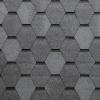 Bardoline PRO hexagonal 269 šedá žíhaná