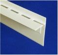 Likov LINOP ukončovací lišta pro NOP 8 mm odvětrávací bílá - délka 2 m