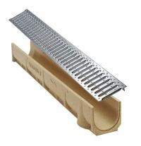 MEA odvodňovací žlab SELF LINE 100/110 s ocelovým roštem