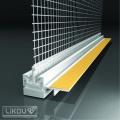 Začišťovací okenní lišta LS2-25 2D 15 mm / 2,4 m