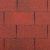 Střešní asfaltový šindel Gutta Guttatec Rectangular - červená