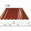 OMAK plechová střešní krytina trapéz T 18 PUREX