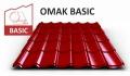 OMAK plechová střešní krytina BASIC PE mat 0,5 mm