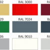 Vzorník barev 2 Polyester lesk 25 µm