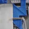 Vytyčovací doraz k řezačkám pro řezání úzkých pásků