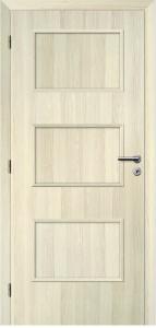 dveře Solodoor STYL 16 SOLO 3D dub bělený