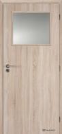 Masonite interiérové dveře 1/3 SKLO laminát premium