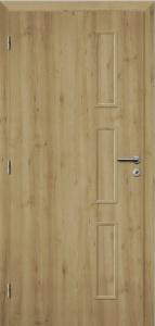 Iinteriérové dveře Solodoor STYL 28 SOLO 3D dub přírodní