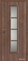 Masonite interiérové dveře AXIS SKLO laminát premium