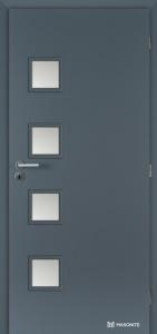 Masonite interiérové dveře GIGA SKLO laminát premium