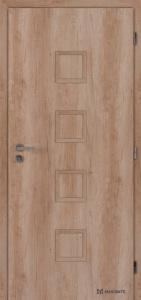 Masonite interiérové dveře QUADRA PLNÉ laminát premium