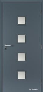 Masonite interiérové dveře QUADRA SKLO laminát premium