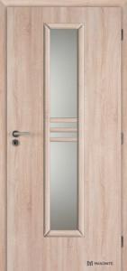 Masonite interiérové dveře STRIPE SKLO laminát premium
