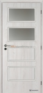 Masonite interiérové dveře Dominant 2 laminát deluxe jilm bílý